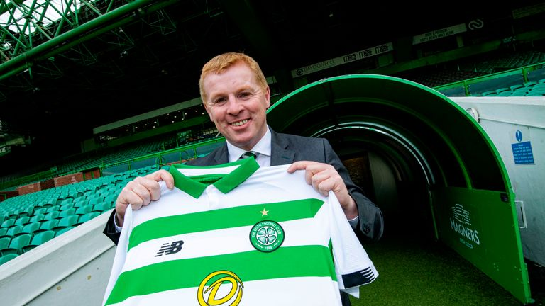 Neil Lennon helped lead Celtic to securing a historic treble-treble