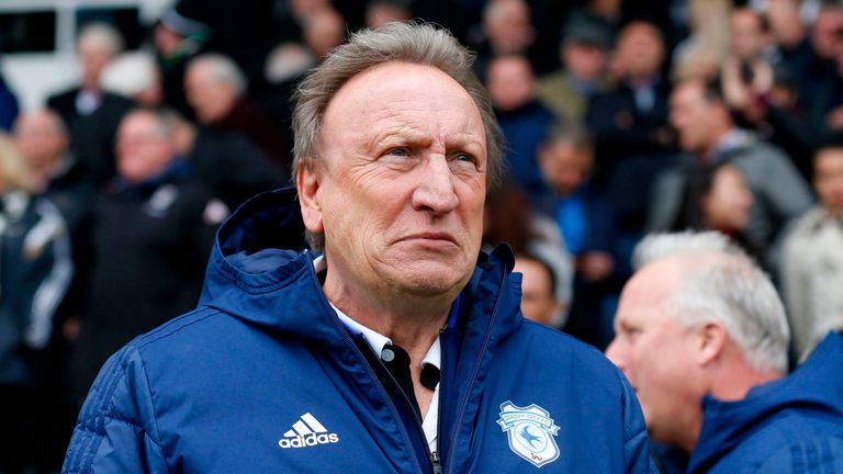 Warnock has been in charge of Cardiff since 2016