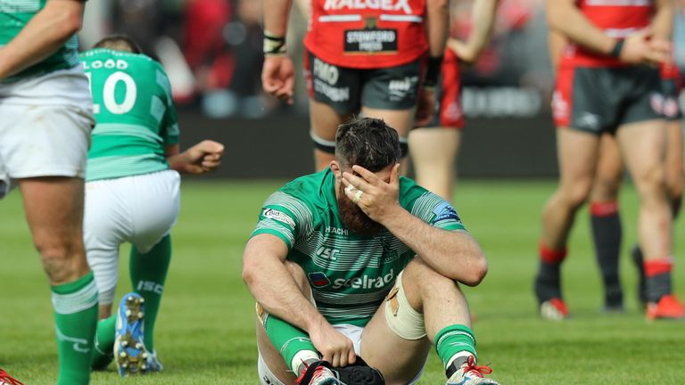 Newcastle have been relegated following defeat at Gloucester