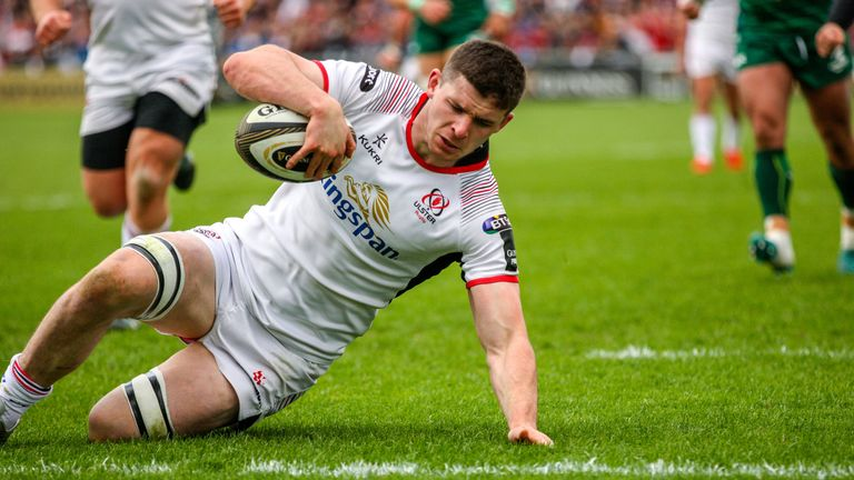 Timoney's try down the left touchline marked a superb start to the fixture for Ulster