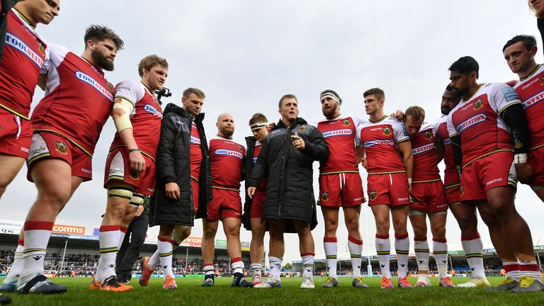 Northampton Saints went down to Exeter at Sandy Park, but made the playoffs anyway