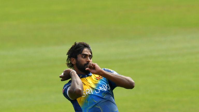 Nuwan Pradeep has taken 42 ODI wickets for his country