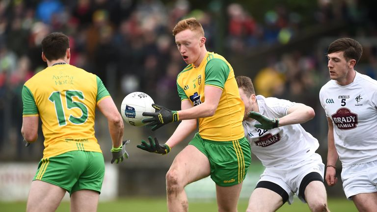 Oisin Gallen made a name for himself with Donegal this year