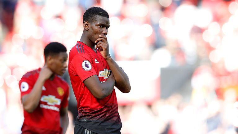 Paul Pogba has been linked with a move away from Manchester United