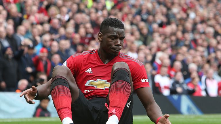 Pogba's form has dipped after an initial spike under Ole Gunnar Solskjaer