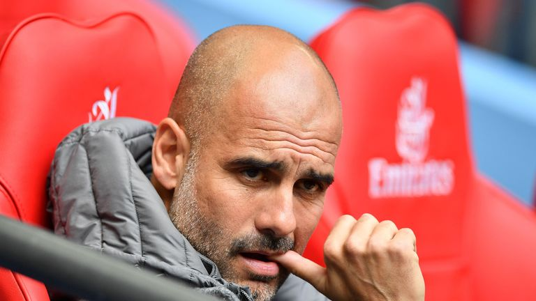 Pep Guardiola's Manchester City side have suffered travel delays
