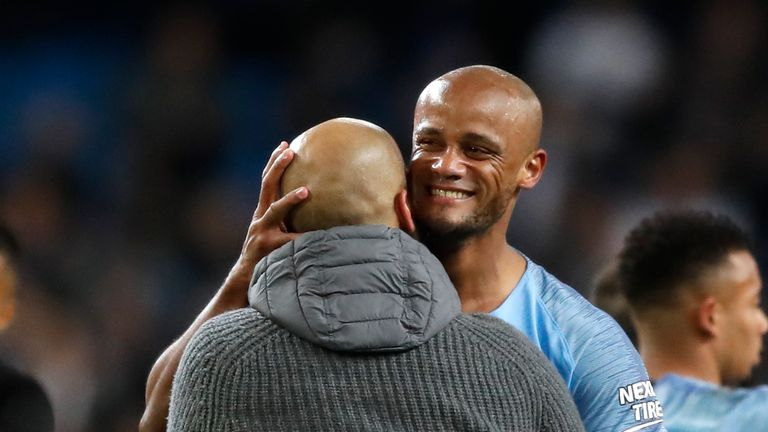 Kompany says he is now a full Manc, and wants those values to continue at the club