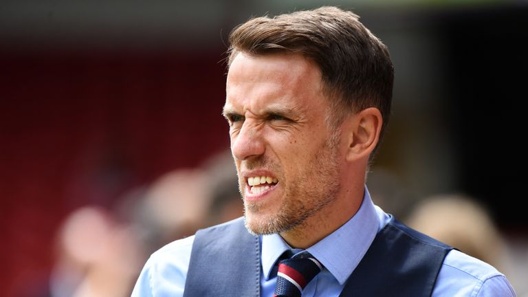 Phil Neville wasn't overly pleased with England's performance despite the win over Denmark