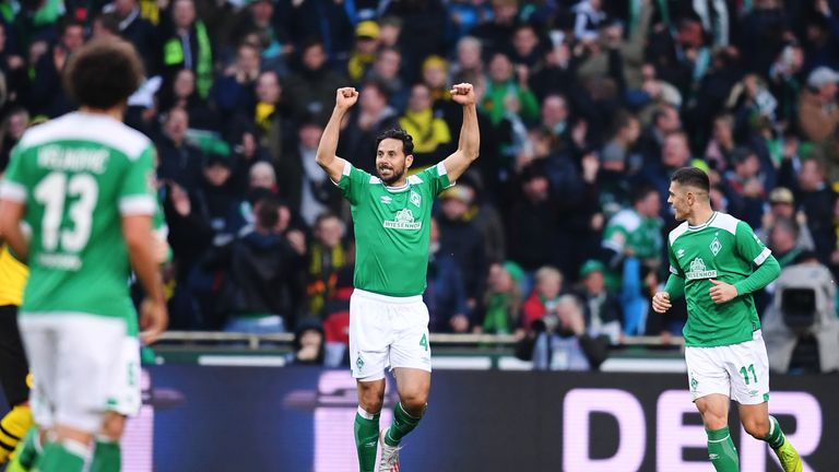 Pizarro will start his tenth season as a Werder Bremen player in 2019/20.