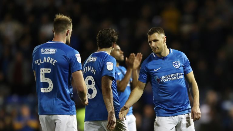 Portsmouth lost to Sunderland in the semi-finals of the League One play-offs