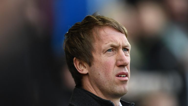 Swansea manager Graham Potter is Brighton's primary target