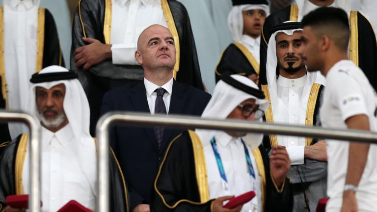 Gianni Infantino and FIFA will float plans in a few weeks' time to expand the next World Cup to 48 teams from 32