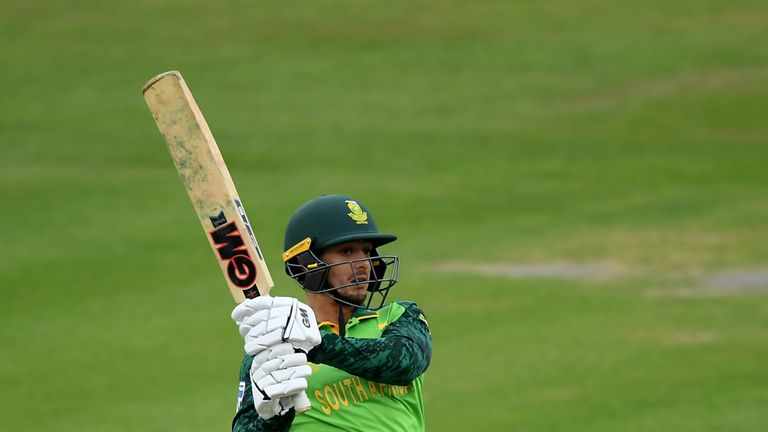 Quinton de Kock will provide quick runs for South Africa at the top of the order