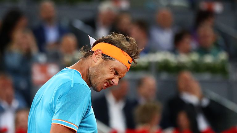 Rafael Nadal suffered another clay court loss to Stefanos Tsitsipas in the Madrid Open