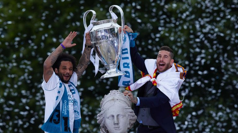 Real Madrid's success in the Champions League was cited by both camps