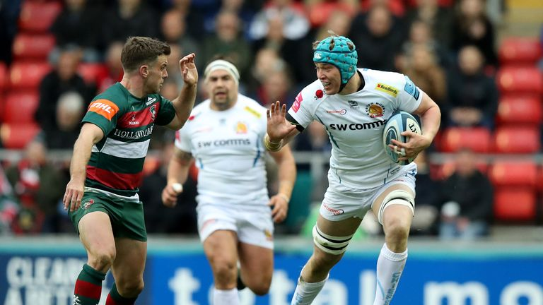 Richard Capstick will make his first Premiership start for Exeter at Saracens