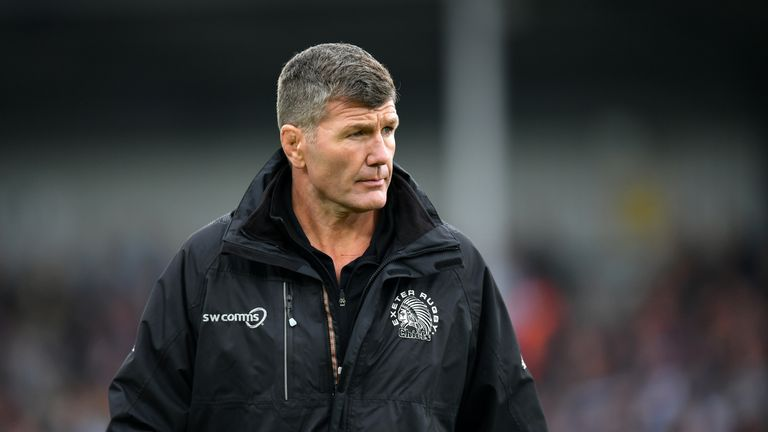 Rob Baxter's Chiefs will now face Saracens in the Premiership  final next Saturday, June 1