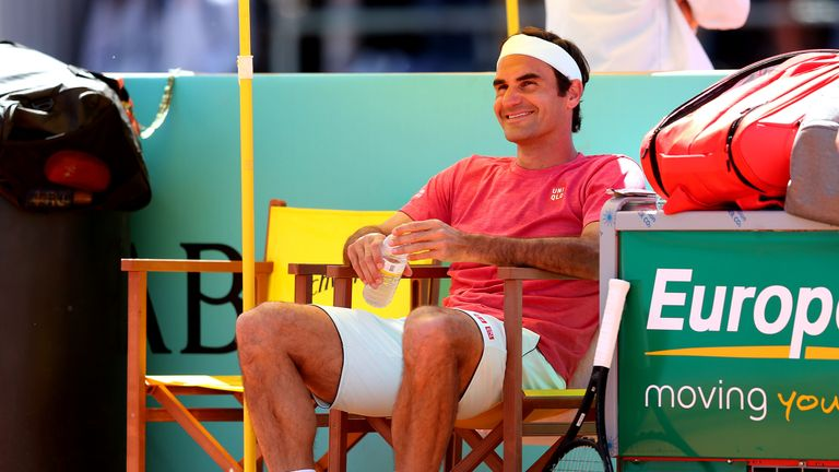Roger Federer has not won a clay-court title since success at an ATP 250 event in Istanbul in 2016