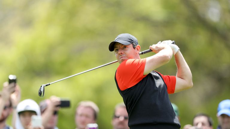 McIlroy insisted his score did not reflect his play on day one