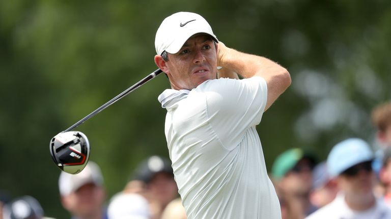 McIlroy is bidding to become the first three-time winner at Quail Hollow