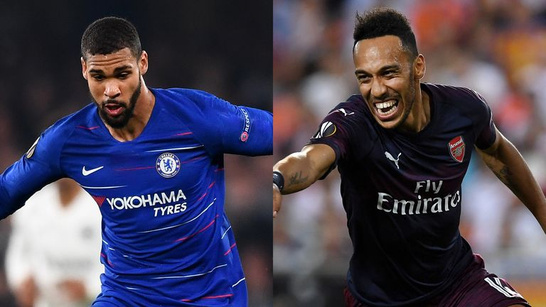How did Chelsea and Arsenal's players rate in their Europa League semi-finals?