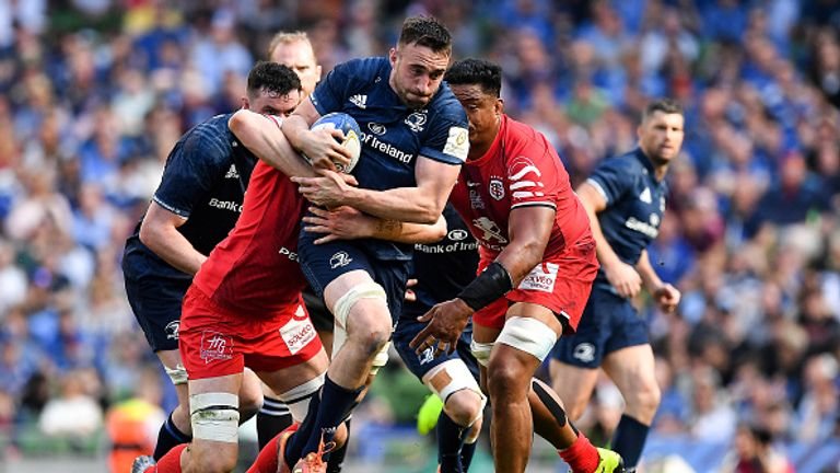 Jack Conan has been in excellent form for Leinster