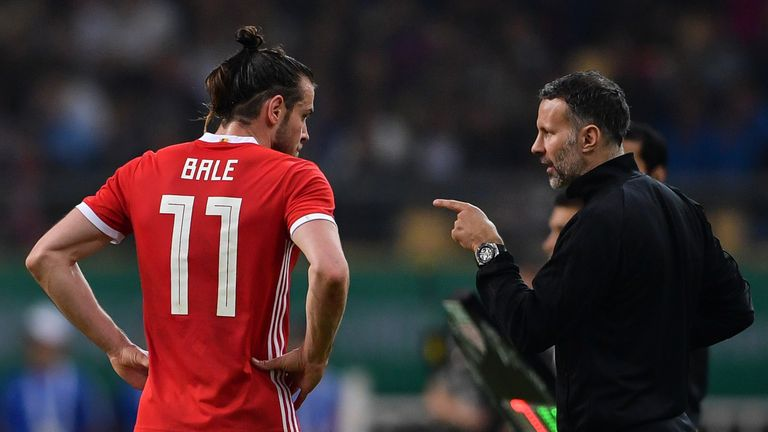 Wales boss Ryan Giggs was pleased with Gareth Bale's performance against Croatia
