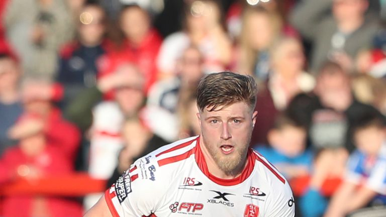 Hull KR produced a second-half comeback to beat Salford and book a quarter-final place