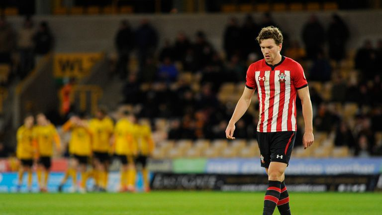 Sam Gallagher managed just three starts during his Southampton career