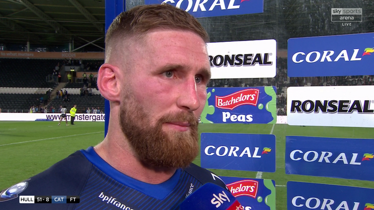 Sam Tomkins labelled Catalans' second-half display as 'disgusting'