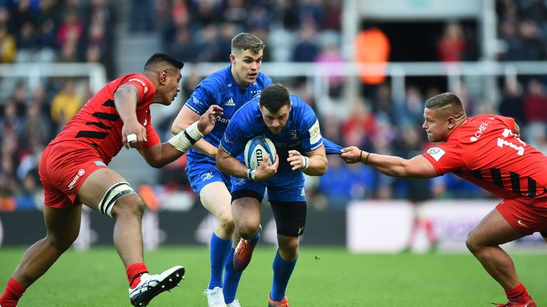 Saracens missed 33 tackles but they forced Leinster into unwanted areas