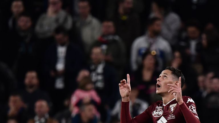 Sasa Lukic's early goal looked to have been enough for Torino to cause a shock
