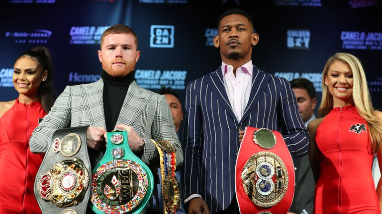 Canelo's unification clash with Daniel Jacobs is live on Sky Sports in the early hours of Sunday morning