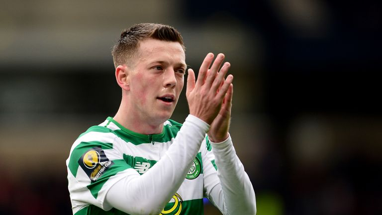 Celtic midfielder Callum McGregor was a target for Leicester