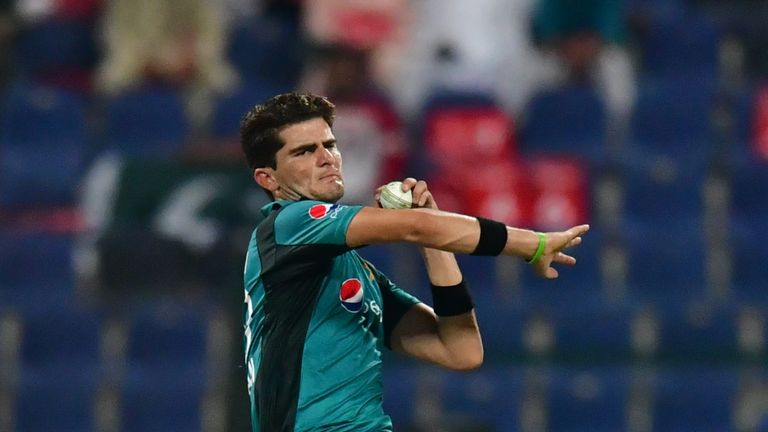 Pakistan paceman Shaheen Shah Afridi is part of a potent bowling attack