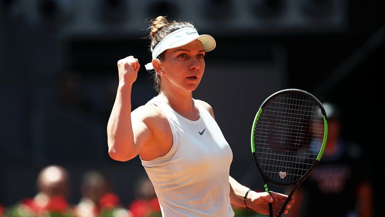 Simona Halep can become No 1 by winning the title