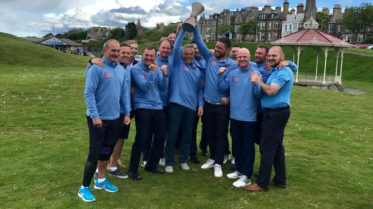 Simpson Cup: Great Britain defeat Team USA on historic Old Course