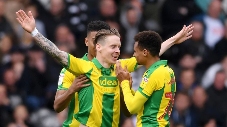 Stefan Johansen has helped West Brom to the Championship play-offs after moving to The Hawthorns on loan in January