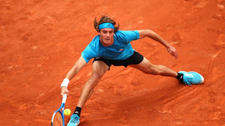 Stefanos Tsitsipas has enjoyed a stellar year, including victory over Federer in Melbourne