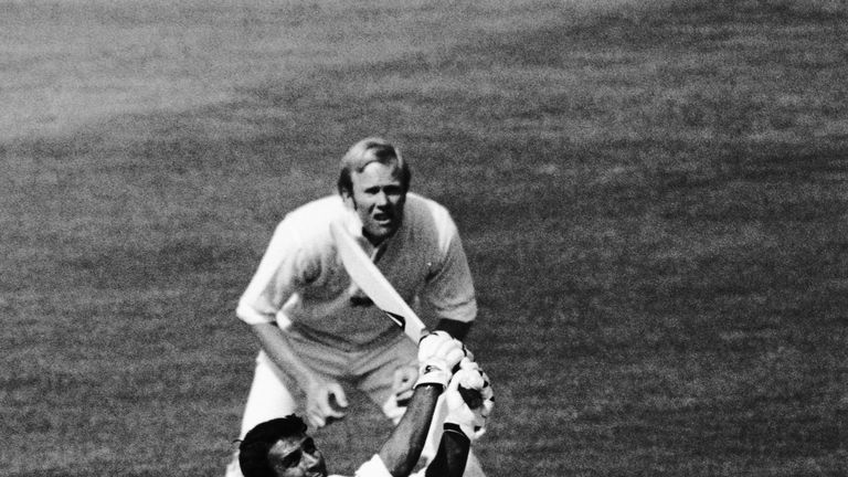 England failed to budge Sunil Gavaskar but it didn't hurt their chances in 1975