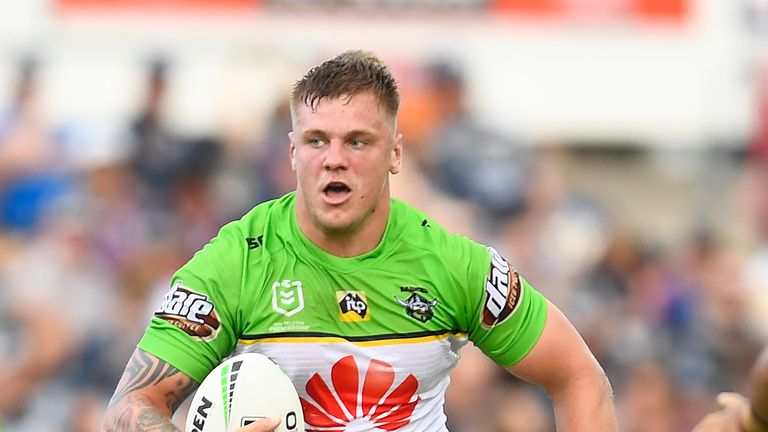 Ryan Sutton and Canberra come up against the Burgess brothers and South Sydney on Saturday in what's being termed a 'Battle of Britain'