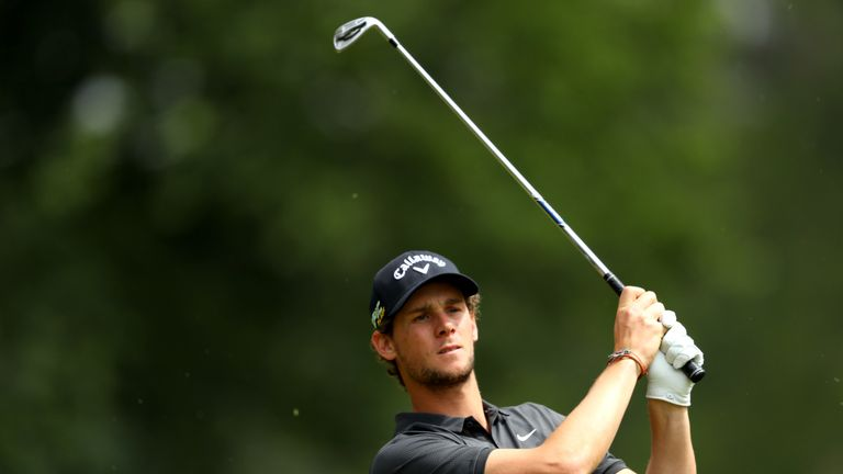 Pieters closed with a 71, blighted only by a triple-bogey at the eighth