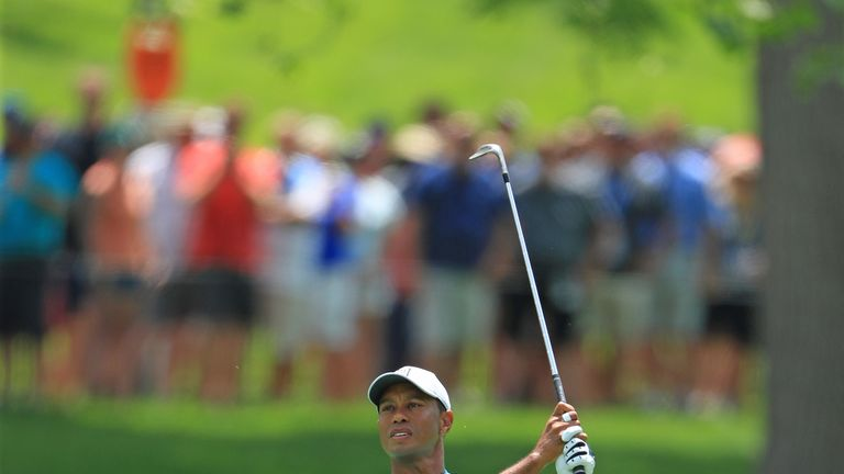 Woods is chasing a record sixth victory at the Memorial