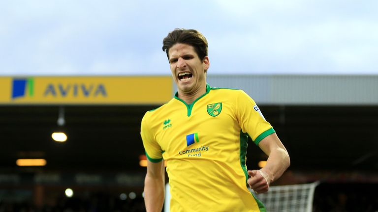 Timm Klose helped Norwich keep 13 clean sheets as they sealed promotion