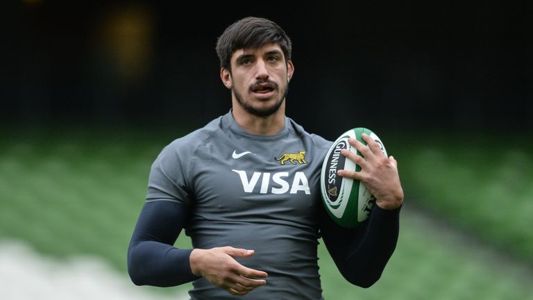 Tomas Lavanini has played 50 Tests for Argentina