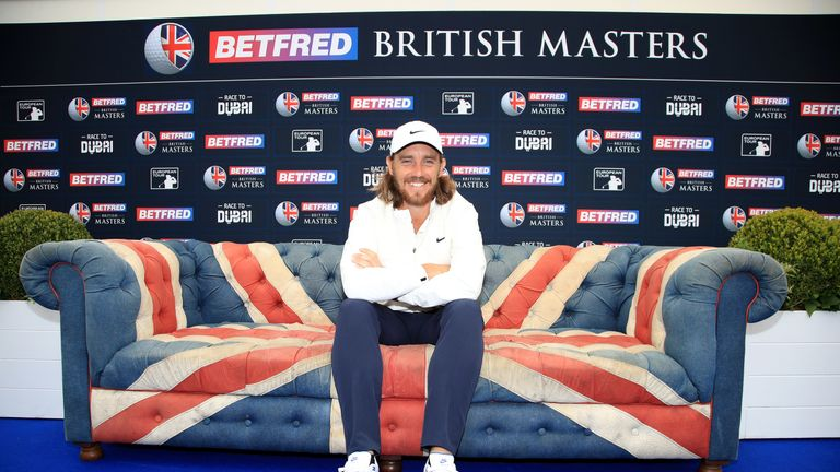Tommy Fleetwood hosts the British Masters at Hillside