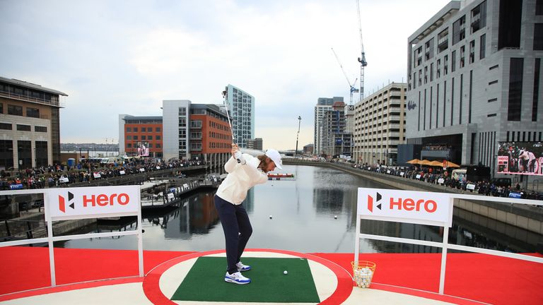 Fleetwood is the highest-ranked player in the British Masters field
