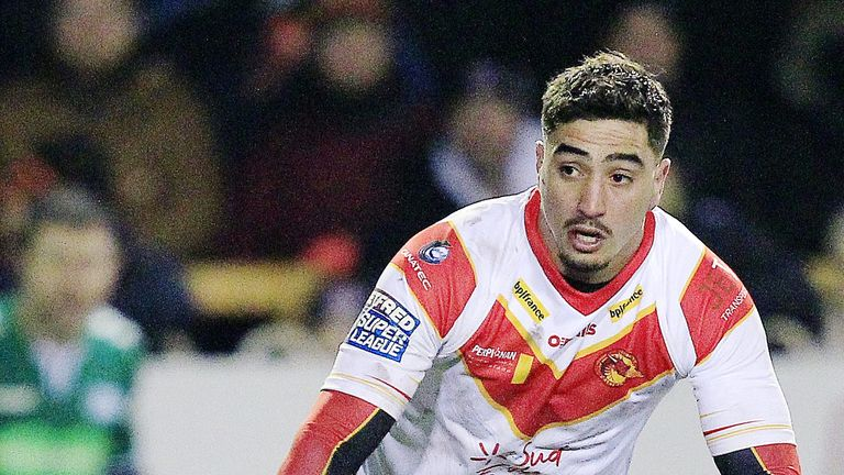 Tony Gigot went over twice for the Dragons