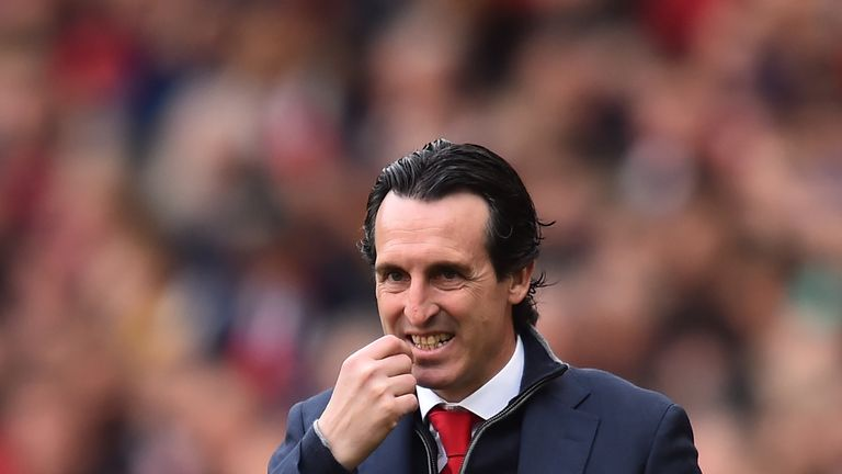 Arsenal finished fifth in the Premier League in Unai Emery's first season in charge