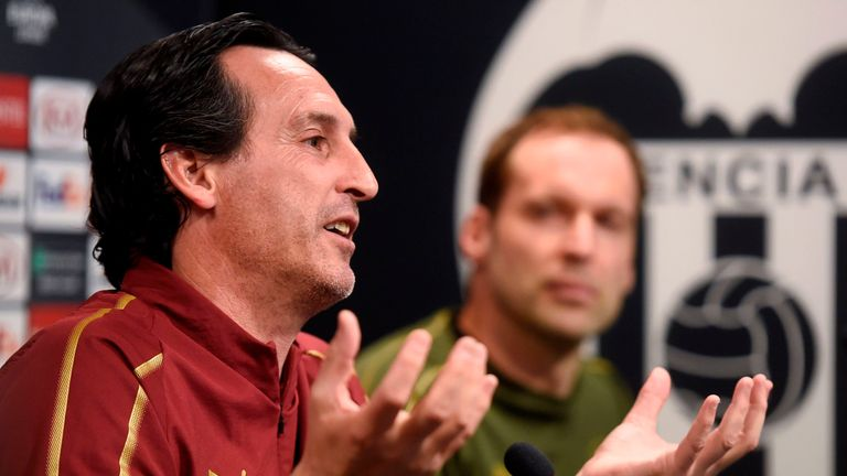 Unai Emery is targeting more Europa league success with Arsenal. He won the competition three times with Sevilla